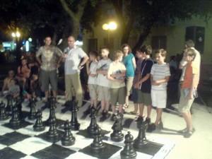 Šahovski meč velikim figurama