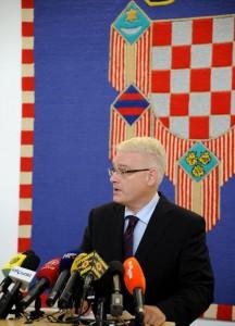 Glavni pokrovitelj turnira predsjednik Hrvatske Ivo Josipović