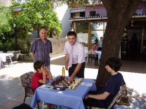 Prvi potez na turniru - Gordan Franolić