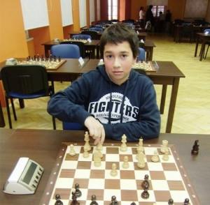 Mislav Monjac majstorski kandidat - nagrada ljubav prema šahu, rad i upornost