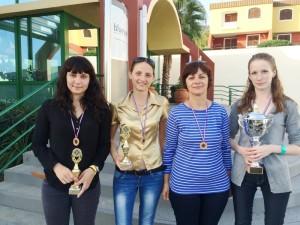 Lora Kukić, Adriana Nikolova, Snježana Bažaj Bočkai, Valentina Golubenko