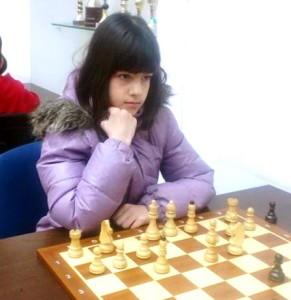 Lara Desnica - prvi službeni nastup u svijetu šaha