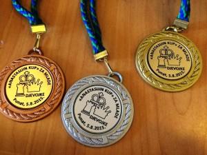 Anastasijin kup - medalje