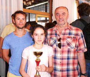 Velemajstor Ivan Šarić, Katarina Bogdanić i trener Ivan Mandekić