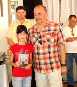 Lara Desnica i trener Ivan Mandekić